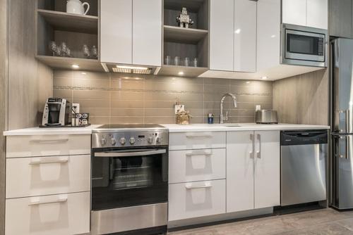"A kitchen or kitchenette at ""The Cityzen"""