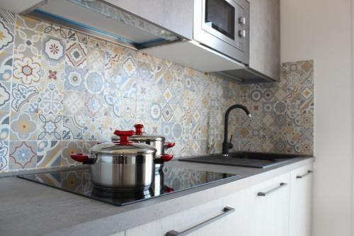 A cozinha ou cozinha compacta de 197 Pozzo San Nicola