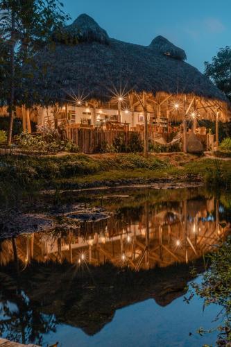 L'établissement El Valle Lodge en hiver