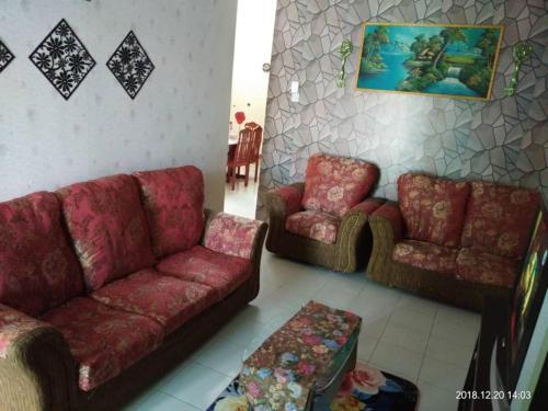 Ruang duduk di SueHaz Homestay Arau