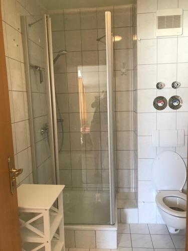 Ένα μπάνιο στο Ferienresidenz Am weißen Regen