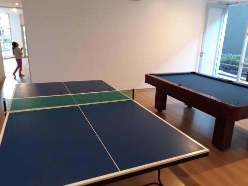 Ping-pong facilities at Departamentos Elite or nearby