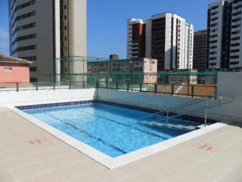 The swimming pool at or near Beach Class - Beira Mar Praia Boa Viagem