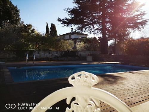 A piscina localizada em Refúgio da Casa de Campo dos Távoras ou nos arredores