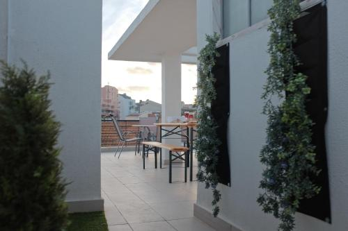 A balcony or terrace at Graça Riverview II