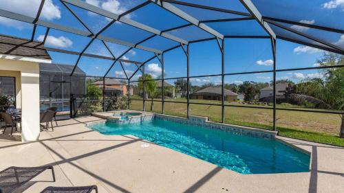 The swimming pool at or close to Sharing the Dream Villa