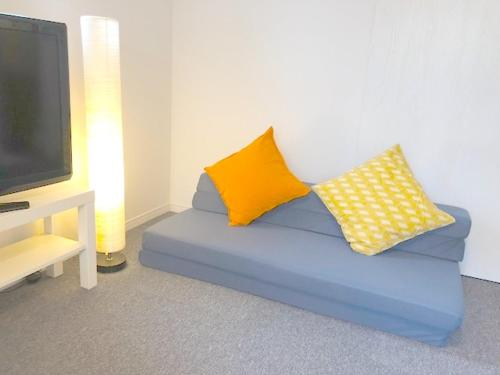 A seating area at [NEW]Fukuoka best location room2/ 天神駅から電車で2分!!