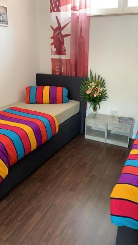 Ein Bett oder Betten in einem Zimmer der Unterkunft Svetlana