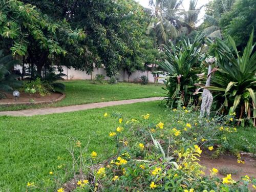 En hage utenfor Diamond home 10