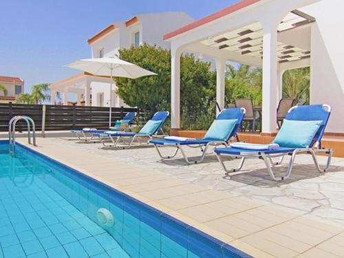 The swimming pool at or near Villa ATHTHG30