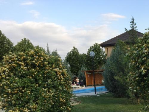 The swimming pool at or near Bucharest Airport Apartments
