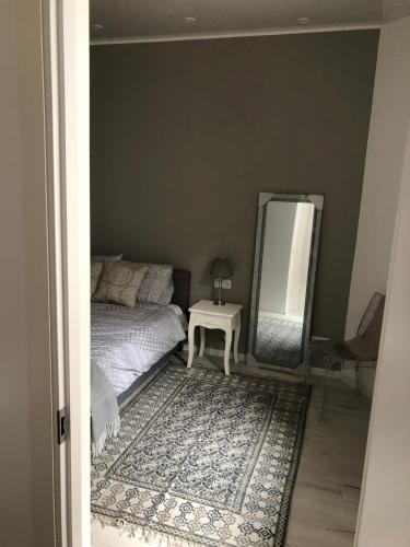 A bed or beds in a room at 3 Boulevard du General Leclerc
