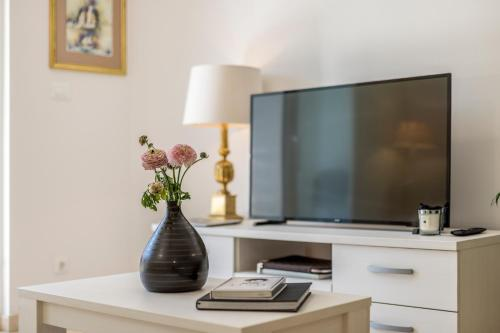 A television and/or entertainment center at Adriatic Queen Villa