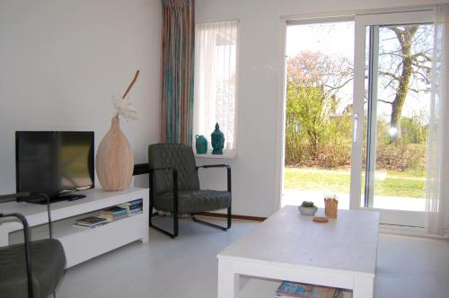 A television and/or entertainment center at Amelanderkaap 109