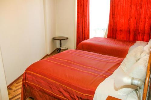 Cama o camas de una habitación en Apartamento en el Centro Historico de Cusco