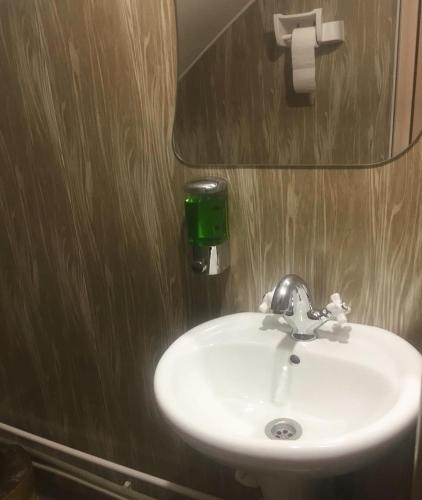 Ванная комната в Guest house Valdi