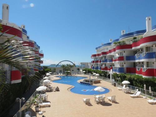 Vista de la piscina de Holiday Florianópolis - 157B o alrededores