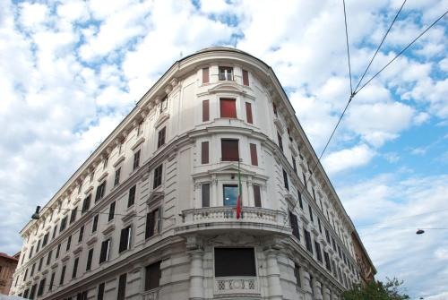 O edifício em que o apartamento se localiza