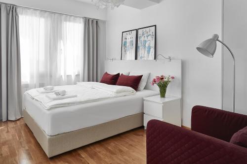 Lova arba lovos apgyvendinimo įstaigoje Moodeight Apartments
