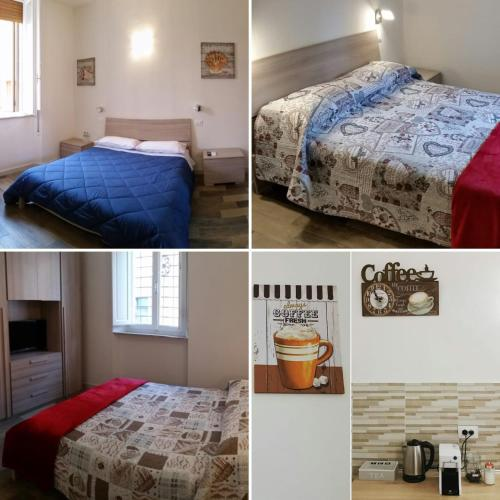 Ein Bett oder Betten in einem Zimmer der Unterkunft A Casa di Asia