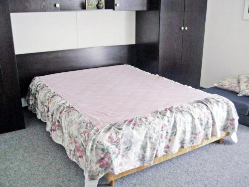 Säng eller sängar i ett rum på Apartment Klif B