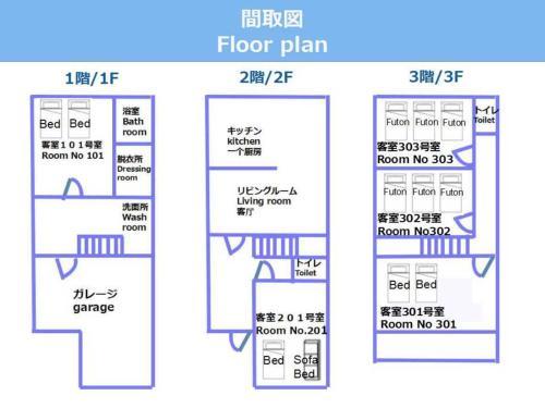 The floor plan of CRAFT