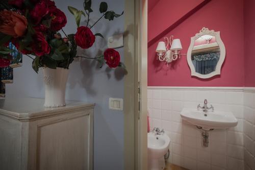A bathroom at Casa di Anita