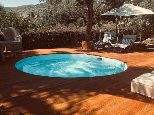 The swimming pool at or near Villa Rosemada, Mondello