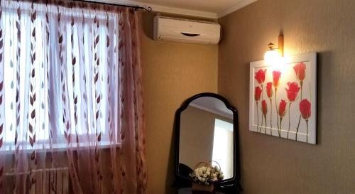 Телевизор и/или развлекательный центр в Apartment Tiraspol on Lenina 7