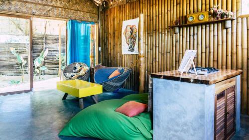 The lobby or reception area at Vacation Rental El Nido