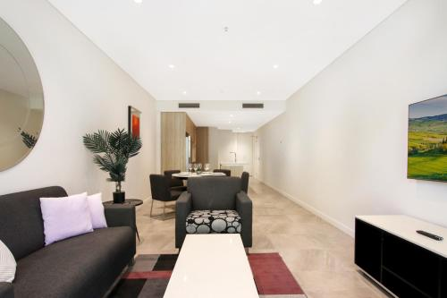 The lounge or bar area at DD Apartments on Day
