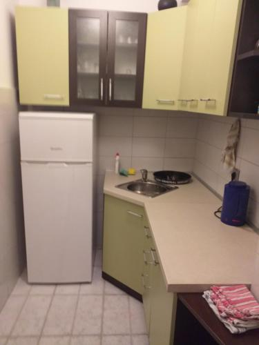 A kitchen or kitchenette at Apartments Duras