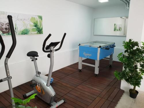 The fitness centre and/or fitness facilities at Luxury Villa Ocean View