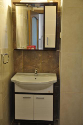 Ванная комната в Sibel Pension