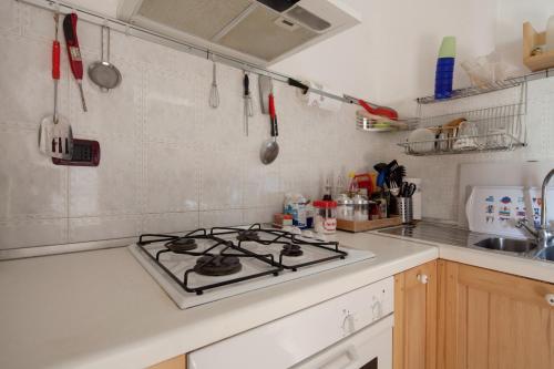 Küche/Küchenzeile in der Unterkunft Fattore 8