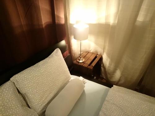 Ein Sitzbereich in der Unterkunft Apartment Nord