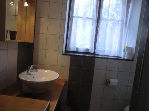 "A bathroom at Gite ""Muscat"""