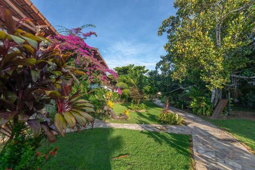 A garden outside Village Muta