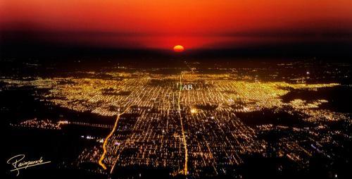 Una vista aérea de Apart Bicentenario