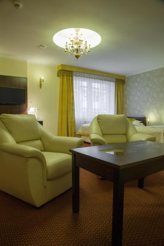 Część wypoczynkowa w obiekcie Hotel Ostrawa