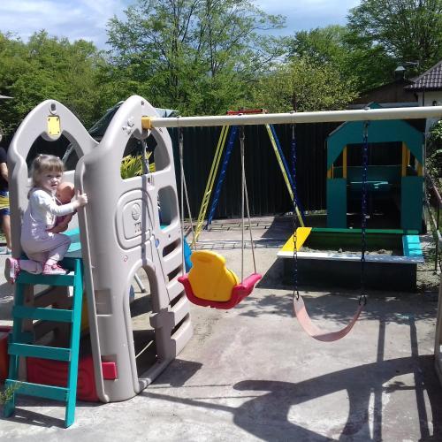 Children's play area at Guest House on Pyatigorskaya Street