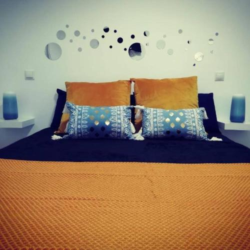 A bed or beds in a room at ESTUDIO MY PEOPLE