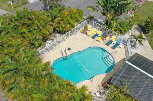 A view of the pool at Tropical Fruit Garden or nearby