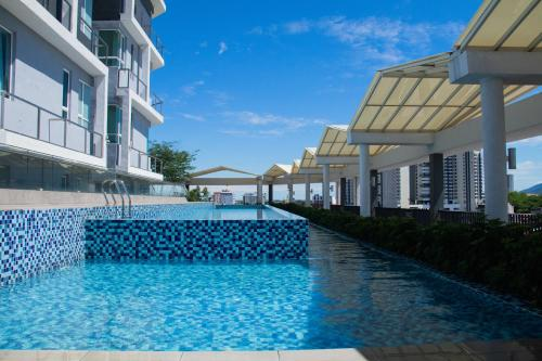 The swimming pool at or close to Octagon Ipoh by Plush