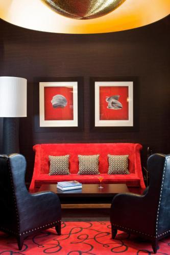 Część wypoczynkowa w obiekcie Modrzewie Park Hotel