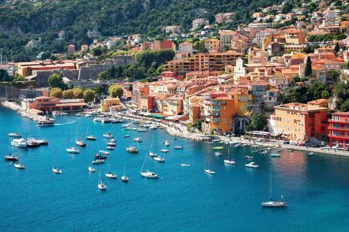 Vue panoramique sur l'établissement Villa Sea View,Beauty and Spa