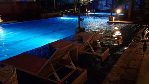 The swimming pool at or near HORIZON 101 BY LOU 3MINS WALK MALL AND BARS