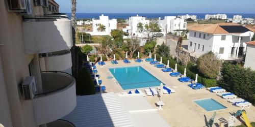 A view of the pool at Mandalena Hotel Apartments or nearby