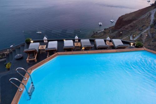 A piscina em ou perto de Nostos Apartments