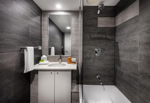 A bathroom at The Sebel Brisbane